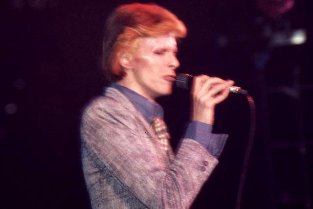 David Bowie, Wash. DC (1974)