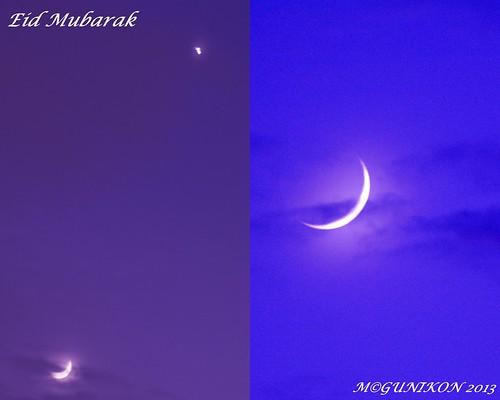 Eid Mubarak by McGun