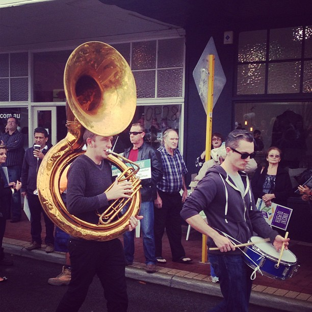 Drum n Tuba, you know you want it.