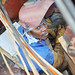"""Small photo of Welding on the """"Ameglia Star"""""""
