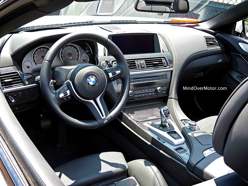 2014 BMW M6 Convertible Interior