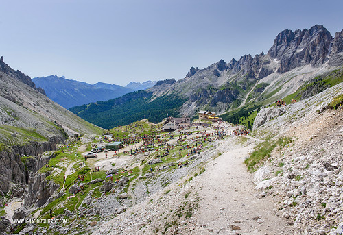 Dolomites - Val di Fassa - Vinicio Capossela at Vajolet 19