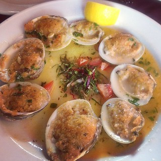 Vongole at Pelligrino's yum yum!! #food #nyc #littleitaly