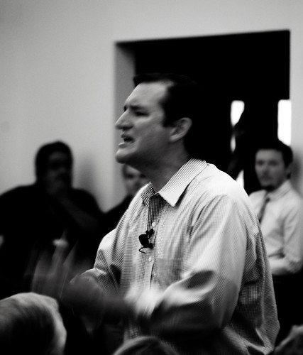 ted cruz constitution day celebration kingwood tea party civic center houston conservative republican harris county texas right wing strutting arrogant narcissist terrorist wacko bird available light candid monochrome black white blackandwhite blackwhite bw politician senator united states politics nut crazy dangerous scary disturbed disturbing gop grand old immigrant senate north america