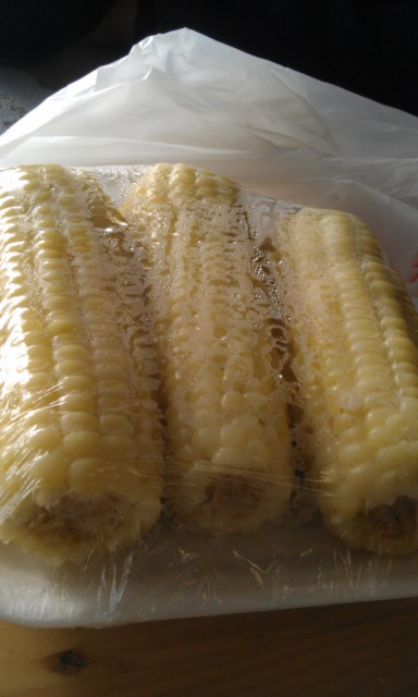 Boiled Corn / Nilagang Mais