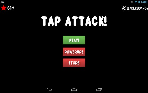 TapAttack! Screenshot