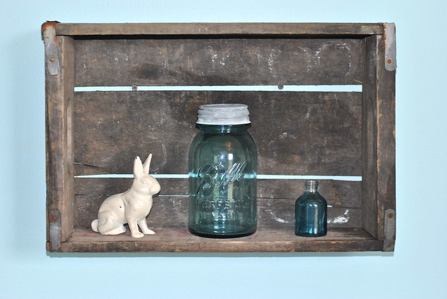 Nursery Shelf and Jars