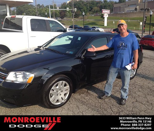Thank you to Steve Shearer on your new car from Rich  Maus and everyone at Monroeville Dodge! by Monroeville Dodge