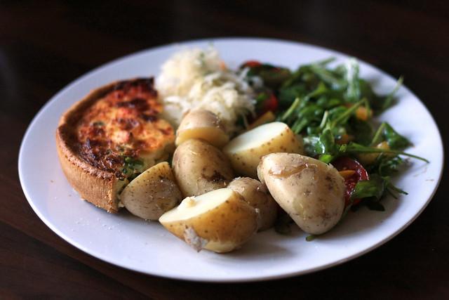 Torta Salata con Patate e Prosciutto Bimby