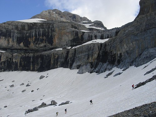 Camino de Pineta por la Cresta de las Olas