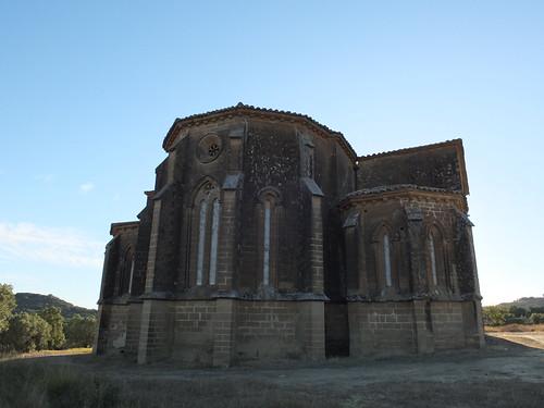 Iglesia de San Miguel de Foces - Cabecera