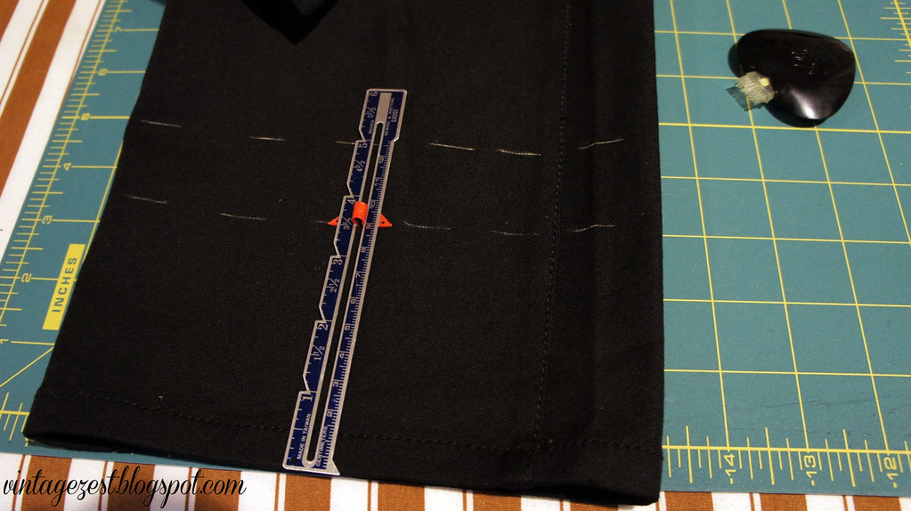 Hemming Pants 4