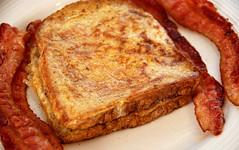 meal, breakfast, bacon, roasting, fried food, meat, produce, food, dish, cuisine,