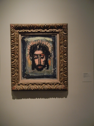 DSCN7921 _ Head of Christ, c. 1932-1938, Georges Rouault ( 1871-1958), LACMA