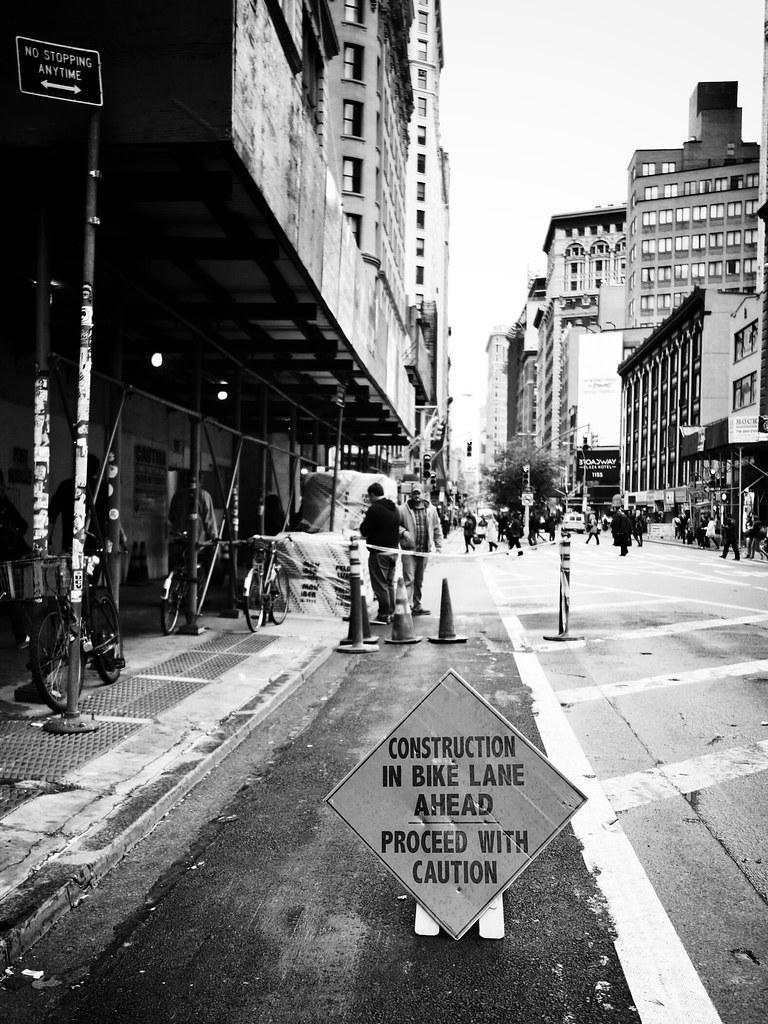 Sad bicycle sign #walkingtoworktoday