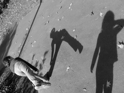 Shadow Play with My girls