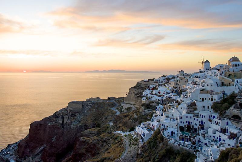 Oia Santorini Greece sunset