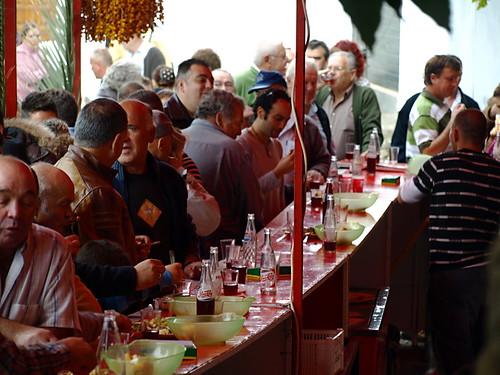 Guachinche, La Matanza, fiesta de San Abad