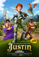 Kahraman Şövalye Justin - Justin and the Knights of Valour (2013)