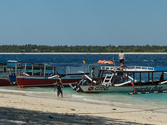 Gili Trawangan ferry port