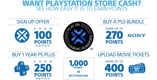 Sony Rewards: Get Games, PlayStation Store Cash, and More ...