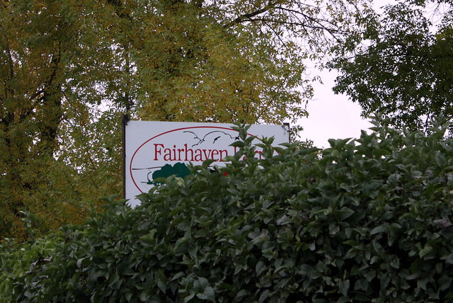 Fairhaven Farm sign