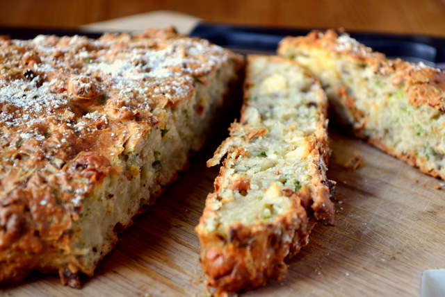 Cheese and Onion Potato Bread