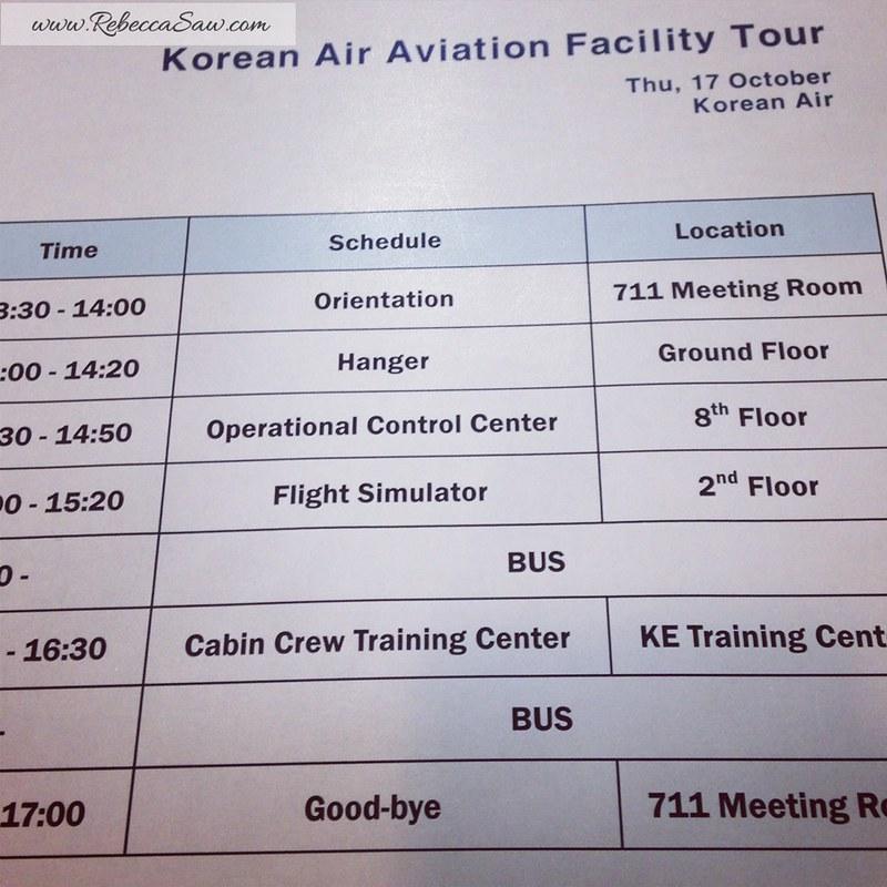 Korean Air Aviation Facility Tour - Seoul, Korea - Asian On Air Program