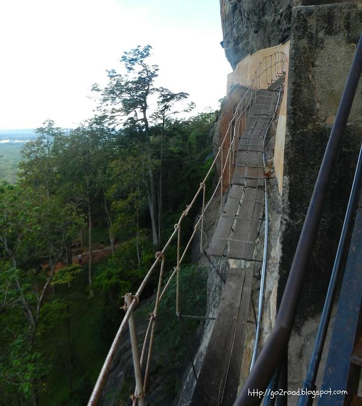 Мечта паникера - лестницы Сигирии
