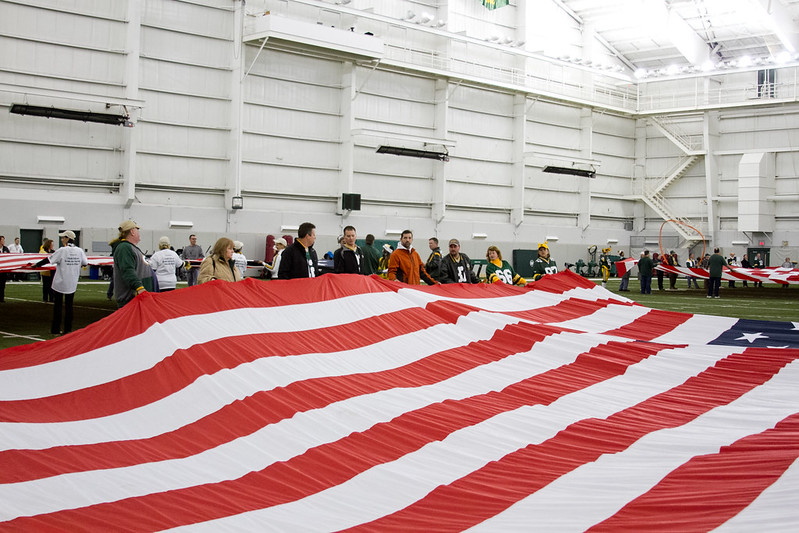 Flag Practice at Don Hutson Center