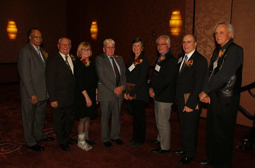 Milwaukee Press Club's Hall of Fame honorees at our 2013 Media Hall of Fame Dinner.