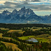 Jackson Hole Valley by Jeff Clow