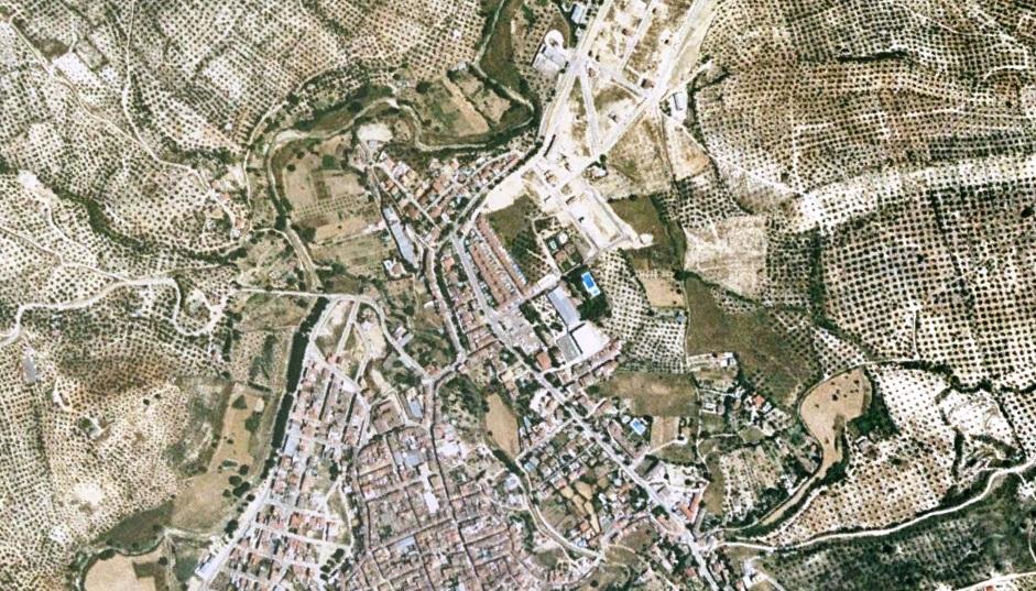 antes, urbanismo, foto aérea, desastre, urbanístico, planeamiento, urbano, construcción,Los Villares, Córdoba