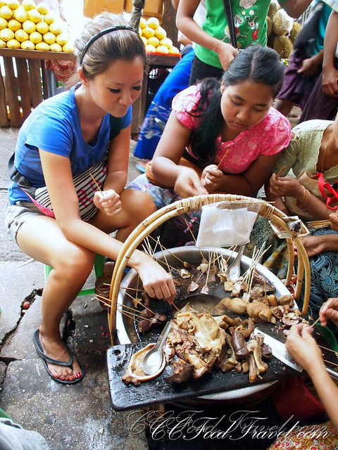 Pork Offal Chinatown Yangon