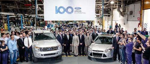 100 Aniversario Ford Argentina