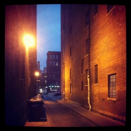 Downtown details... Dusk.
