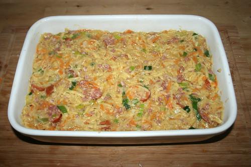 28 - In Auflaufform geben / Put in casserole