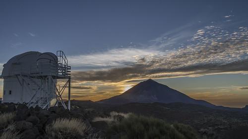 El Teide desde el Observatorio by lborque