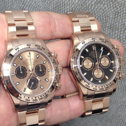 Rolex Daytona Everose. unworn. For more info email me at crmjewelers@gmail.com Picture by @charliethejeweler #love #custom #watch #luxury #shot #amazing #life #dream #Brazil #baby #girl #show #money #diamond #watches #cartier #hublot #AP #Rolex #instagood