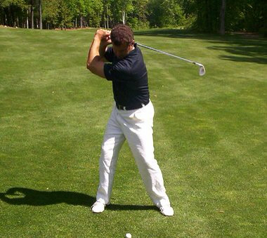 Golf floG Blog: Right Arm Width: The Anti-Collapse