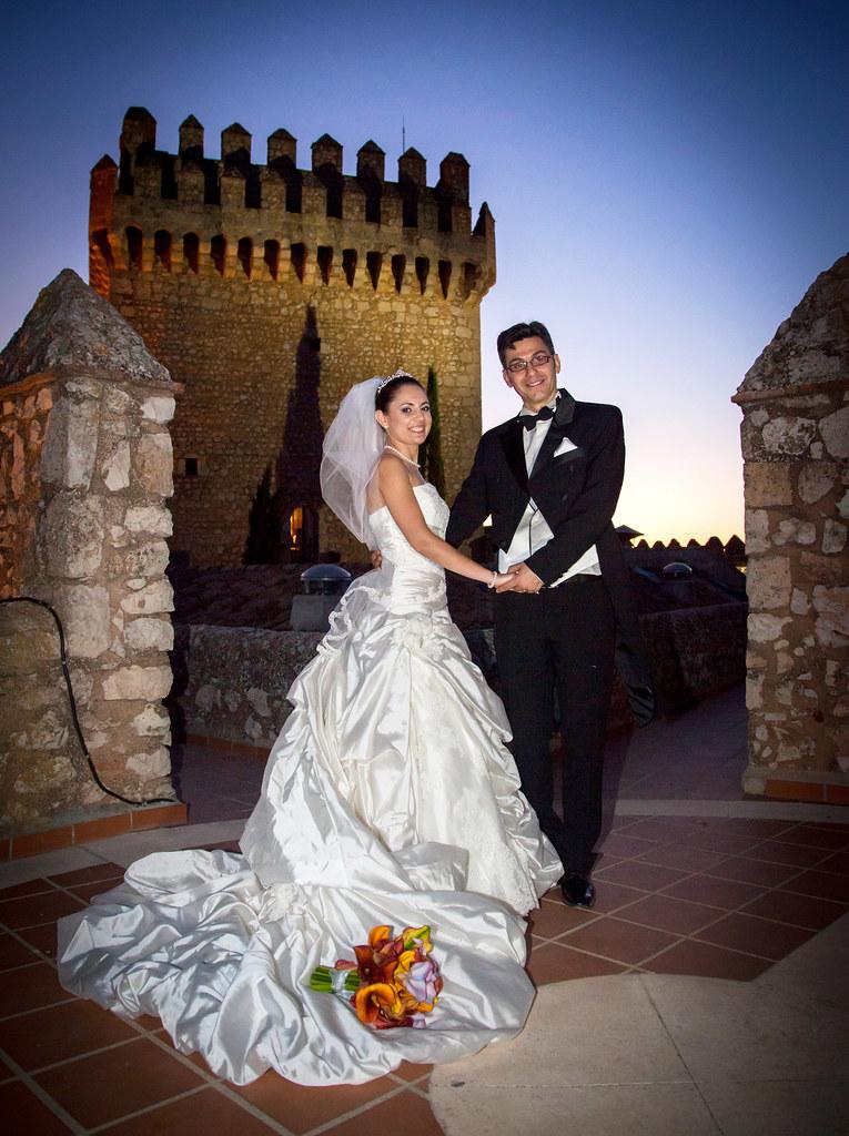 Tina wearing a royal crystal tiara and custom lace  edge veil by Bridal styles boutique