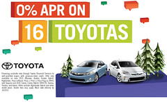 zero percent financing on 16 toyota models 660
