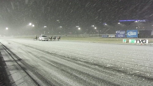 SnapShot | Right Before Race 2 In The Snow #New #Meadowlands