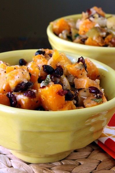 11033278834 1f1d471305 z Butternut Squash, Apple and Cranberry Gratin