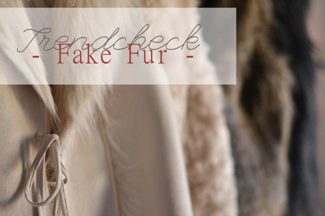 Trendcheck Fake Fur Fellweste Banner
