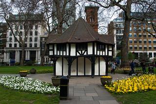Jolie petite maison dans Soho Square