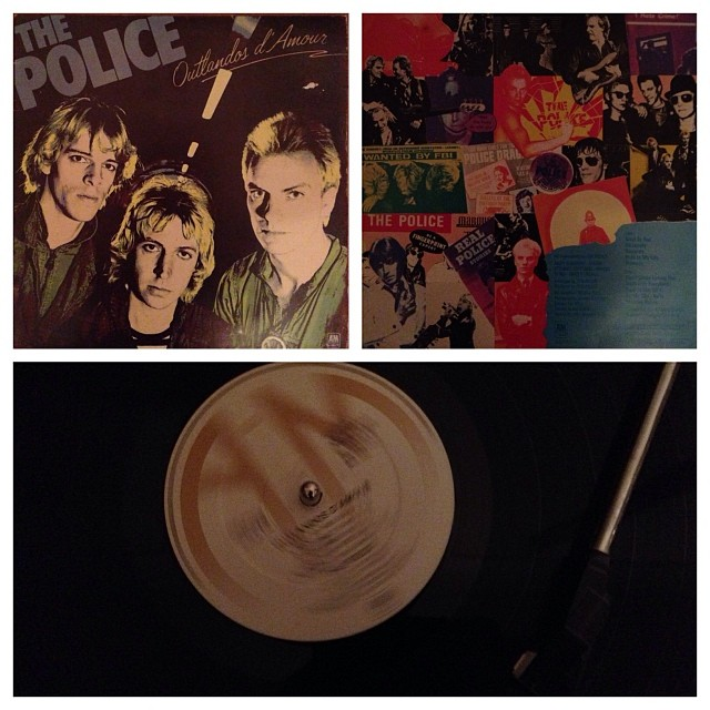 "291113_ #np ""Outlandos d'Amour"" by The Police #vinyl"