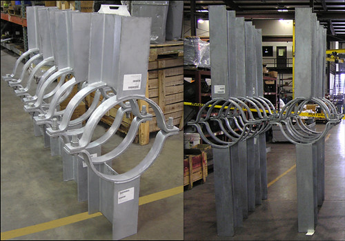 Pipe Guides Designed for a Recovery Boiler