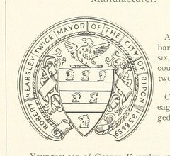 "British Library digitised image from page 519 of ""Ripon Millenary [1886] . A record of the Festival. Also a history of the City arranged under its Wakemen and Mayors from the year 1400 [Edited by W. Harrison, with a preface to Pt. II. by W. Grainge dealin"