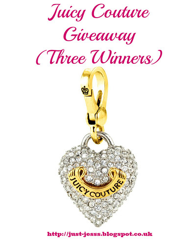 Juicy Couture Charms Giveaway